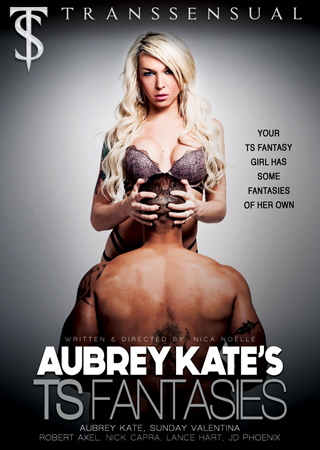 Transsensual Delves Ino 'Aubrey Kates TS Fantasies'