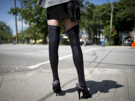 The Nordic model for prostitution is not the solution — it's the problem -- A sex worker is pictured in downtown Vancouver, B.C., Wednesday, June, 3, 2014. The study, published in a British online medical journal, found that even when Vancouver police targeted just the clients and pimps of prostitutes, sex workers suffered virtually the same rates of physical and sexual violence. THE CANADIAN PRESS/Jonathan Hayward