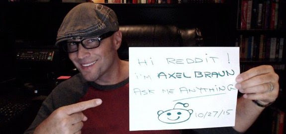 Acclaimed Adult Film Director Axel Braun to Join Reddit's IAmA Q&A Forum Oct 27