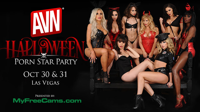 Scarily Sexy: Romi Rain Geared up for This Week's AVN Halloween Party