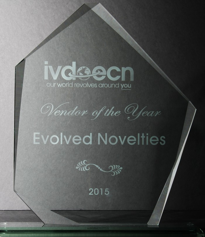 Evolved Novelties Wins Vendor of the Year