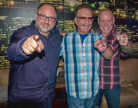 Mike Gange, Ronnie Mund, Richie Wilson
