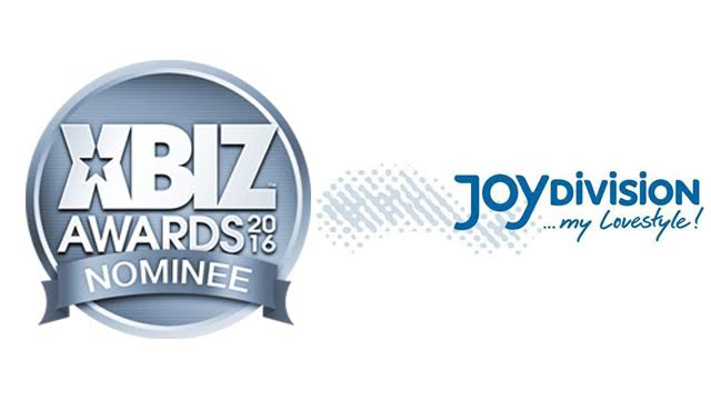 JOYDIVISION Receives Progressive Pleasure Products Company of the Year Nomination for 2016 XBIZ Awards