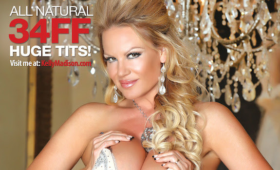 'Kelly Madison's World Famous Tits: Volume 15' Ships November 18