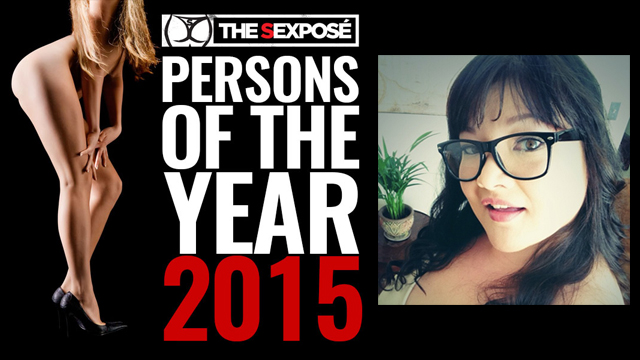 Kelly Shibari Named 'Person of the Year' by http://TheSexpose.com