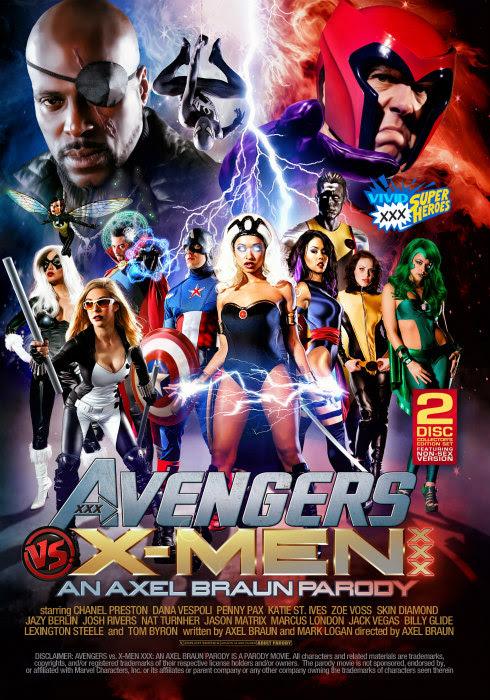 """Vivid's Avengers vs X-Men XXX: An Axel Braun Parody"""" Debuts"""