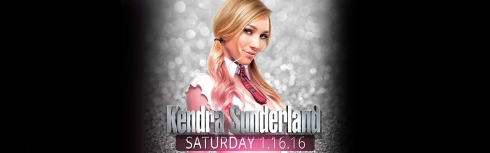 Kendra Sunderland Features at Sapphire NYC January 16