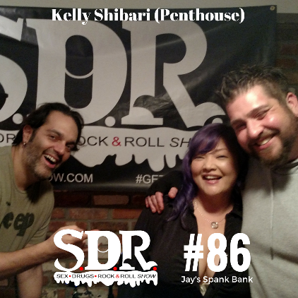 SDR Show Welcomes Kelly Shibari Into Studio