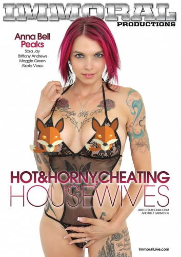 "Pure Play Media Releases New Immoral Productions Series, ""Hot and Horny Cheating Housewives"""