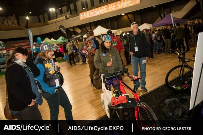 AIDS/Lifecycle Expo at Armory Events Center Draws Over A Thousand Attendees