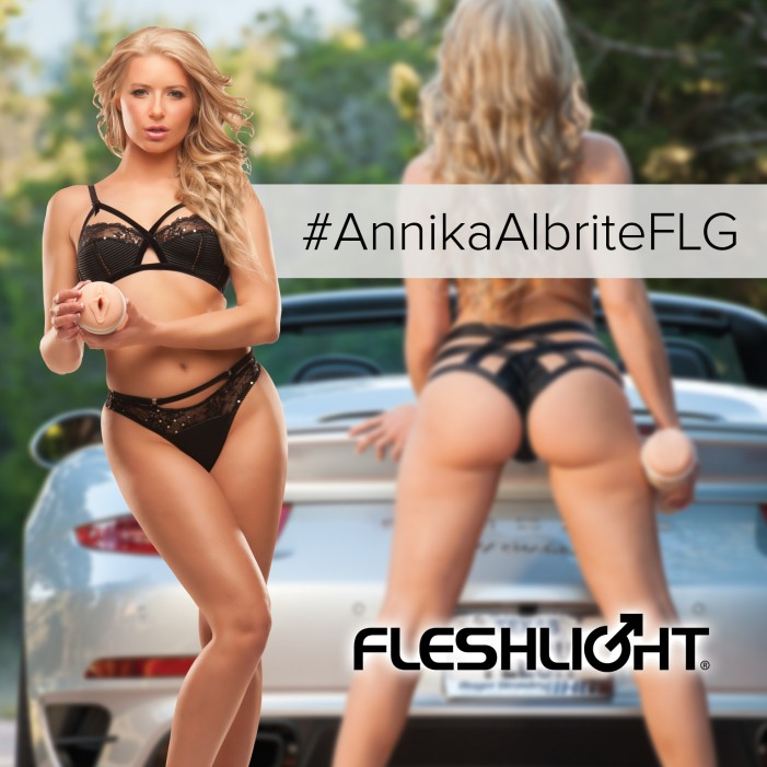 Blonde Bombshell Anikka Albrite to Perform at Vivid Gentlemen's Club Houston Feb. 18-20