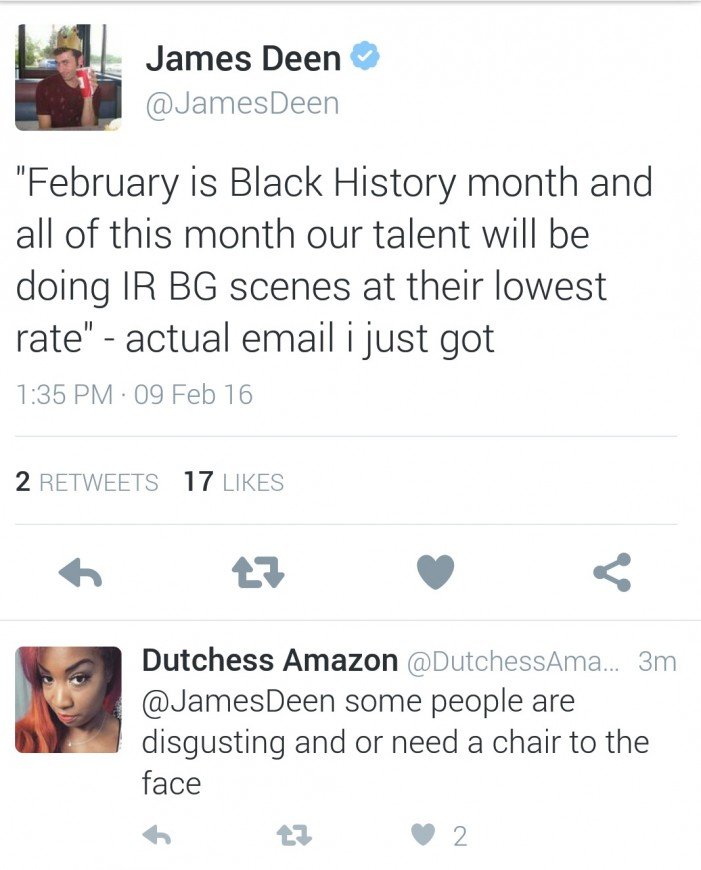 In Celebration Of Black History Month, Exposed Models LA Is Booking White Girls For Cheap. Updated