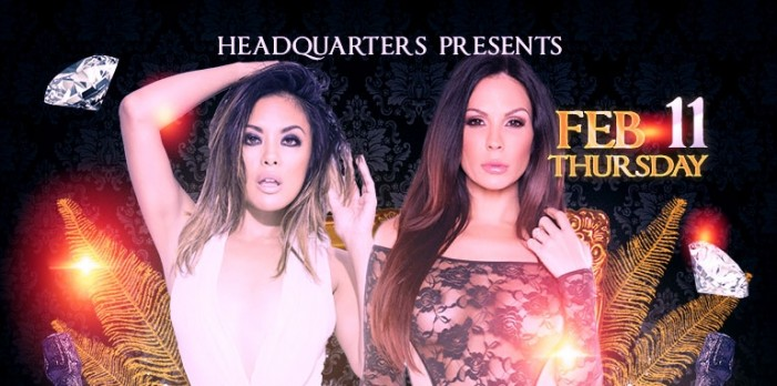 Kaylani Lei & Kirsten Price Celebrate Annual Big John's Birthday Bash at Headquarters February 11