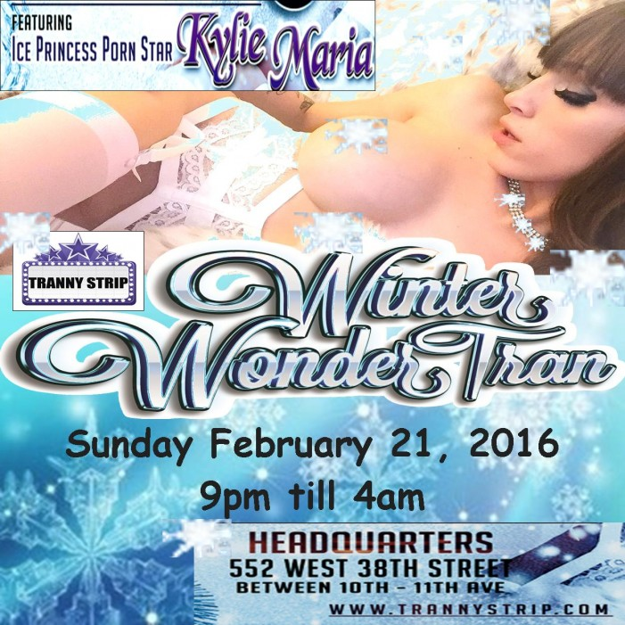 TGirl Events Holds 'Winter Wonder-Tran' Party at Headquarters Sunday, February 21