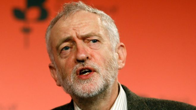 Decriminalise 'sex industry', says Jeremy Corbyn