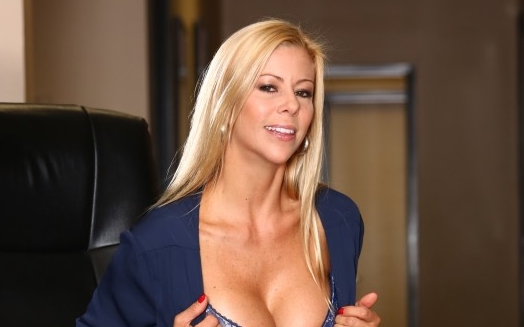 MILF Extraordinaire Alexis Fawx On Cover of New Zero Tolerance Movie