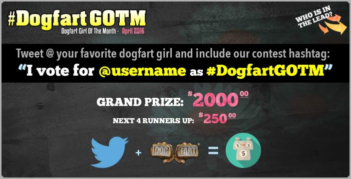 Katrina Jade & Lexi Lowe In Epic Tweet-Off For #DogfartGOTM