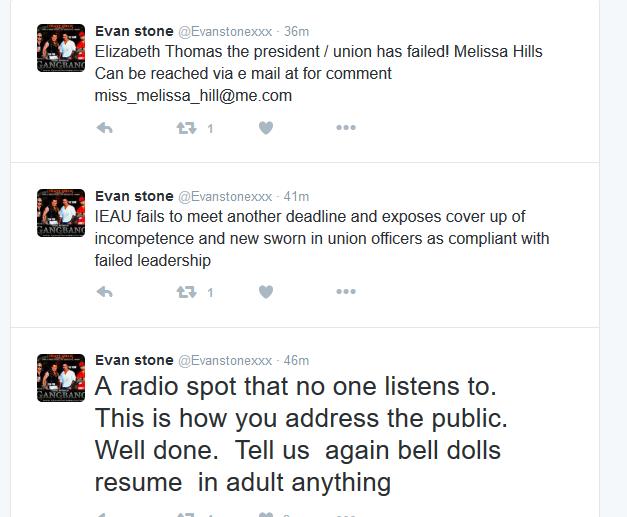 Evan Stone Is Still Shredding Phyllisha Ann's International Entertainment Adult Union #Scam