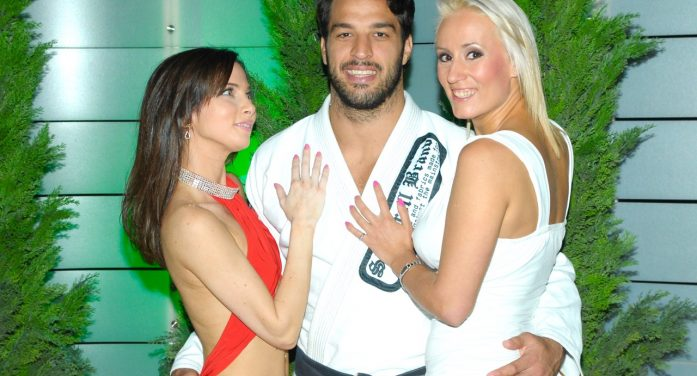 Rick's Cabaret NYC Girls with the Two Time World Jiu-Jitsu Champion Gregor Gracie– (photos)
