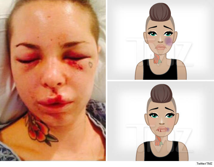 Xxx Star Christy Mack Creates Domestic Violence Emojis