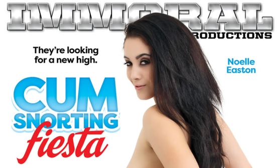 "Pure Play Media Releases New Immoral Productions Series, ""Cum Snorting Fiesta"""