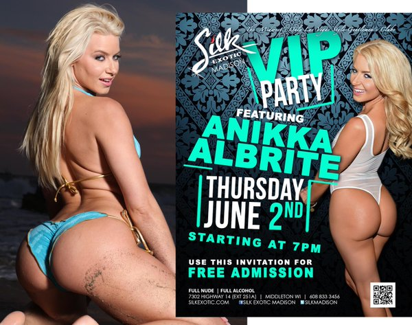 Hang Out With Anikka Albrite at Silk Madison This Weekend