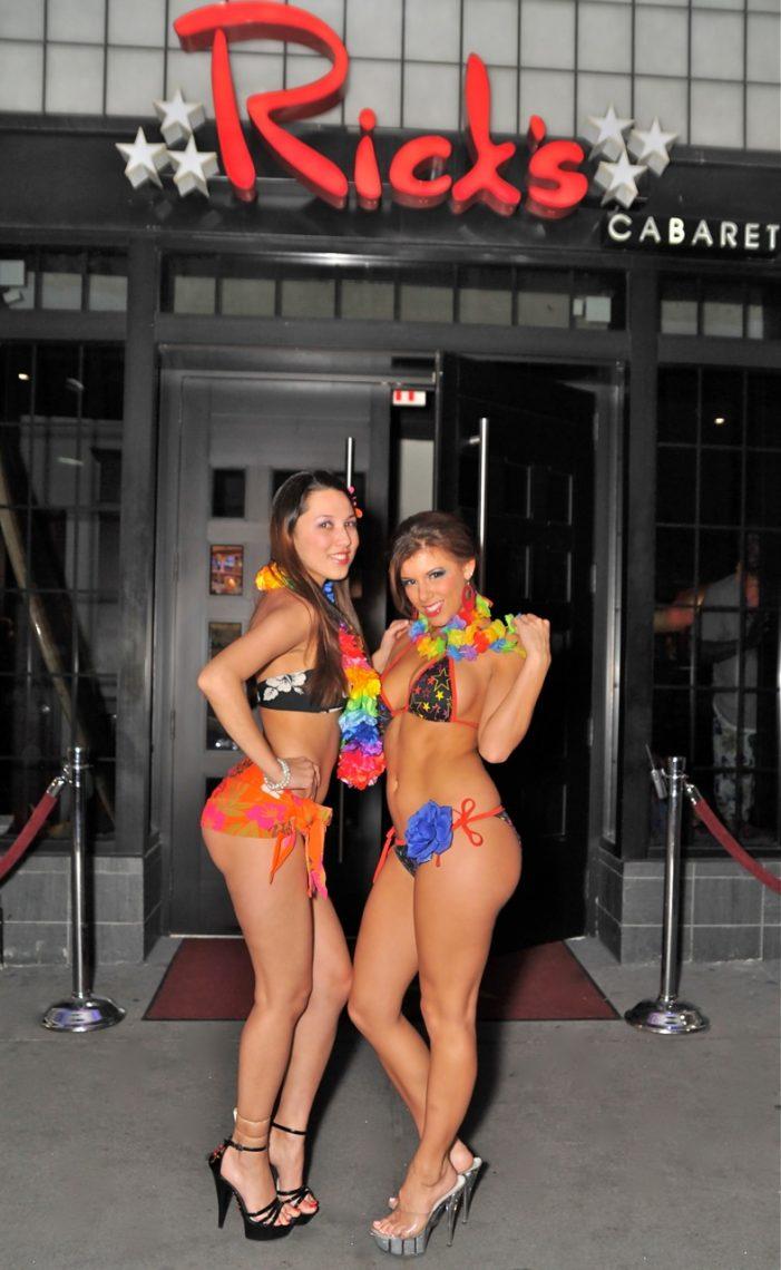 "Rick's Cabaret NYC Hosts ""Hawaiian Luau"" (photos)"