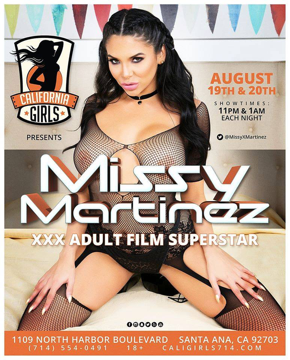 Missy Martinez Brings Latina Heat  to California Girls Santa Ana