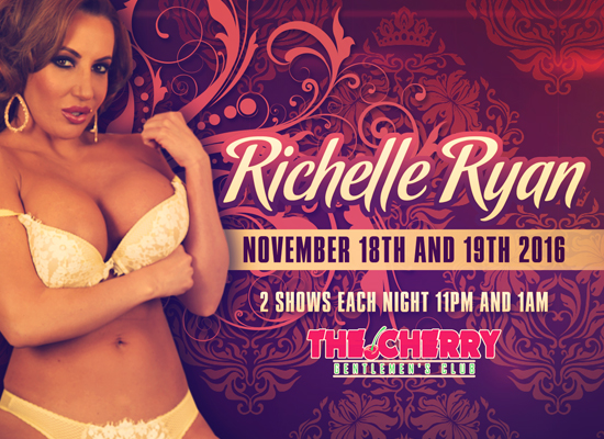 Richelle Ryan to Perform at The Cherry Club in Huntsville, AL this Weekend