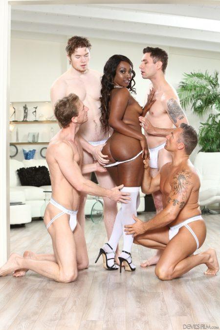 Avn best group sex scene