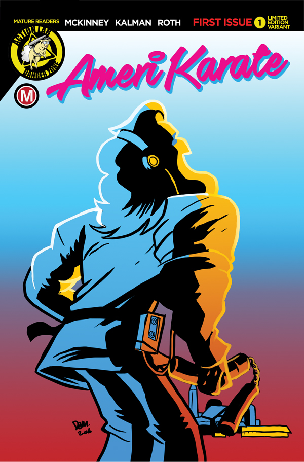 AmeriKarate is The Smash Hit Comic Book Paying Tribute to 1980's Action Flicks