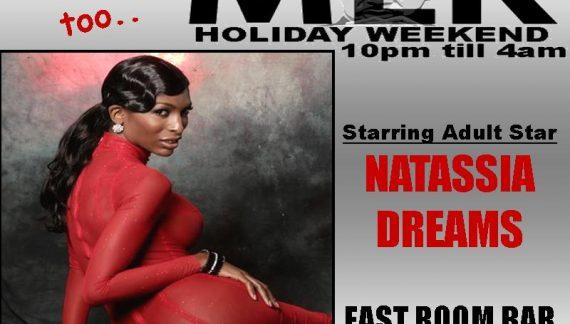 Natassia Dreams Hosts Tranny Strip MLK Party at East Room Bar this Friday