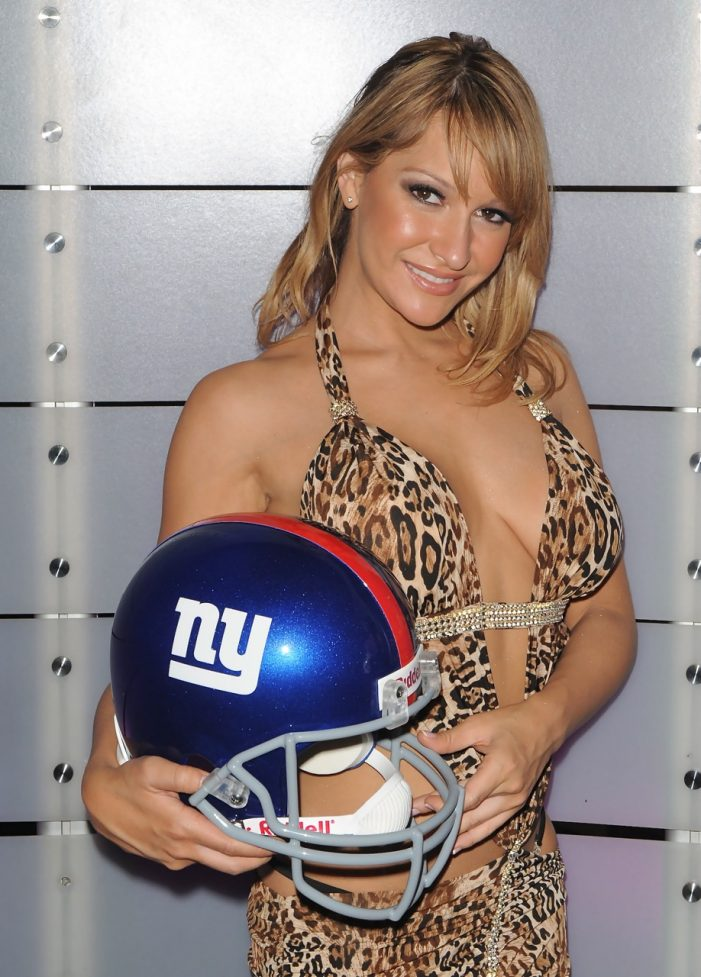 """Lap Dance Therapy"" offered to defeated NY Giants by Vivid Cabaret NYC strippers (photos)"