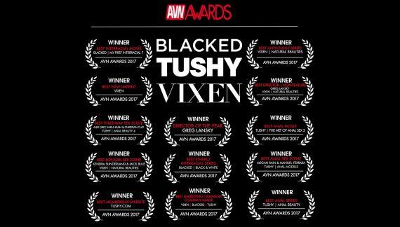 Greg Lansky, Blacked, Tushy, & Vixen Take Home 13 AVN Awards for 2017!