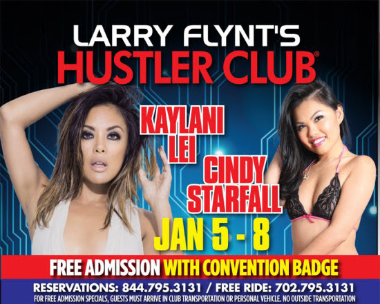 Cindy Starfall Returns To Hustler Las Vegas For Three Nights Of Naughtiness!