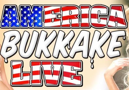 Nina Elle and Riley Nixon On American Bukkake Live Tonight