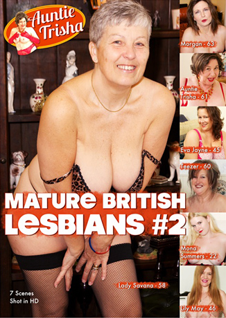 Auntie Trisha Makes DVD Début with Two Volumes of Mature British Lesbians