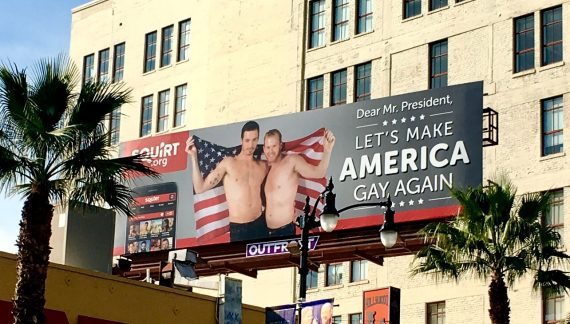Trump, 'Let's Make America Gay Again'