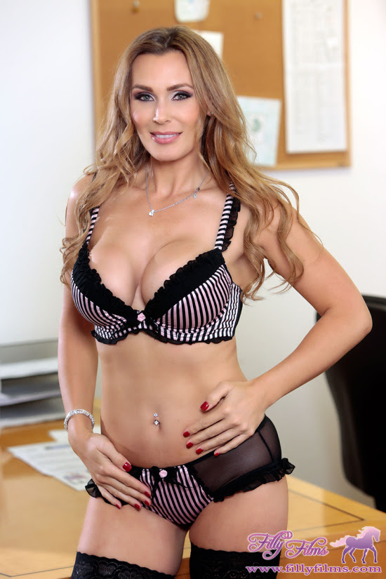 Tanya Tate Takes Taboo Themes To Naughty New Heights In Filly Films' LESBIAN FAMILY AFFAIR 4