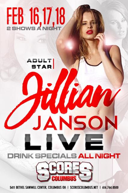 Jillian Janson Headlines Hustler Club Las Vegas For Three Nights Of Naughty Fun