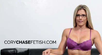 Cory Chase Launches CoryChaseFetish.com