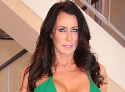Reagan Foxx Lands the Cover of Evil Angel's 'Evil MILFs 3: Slutty Stepmoms'