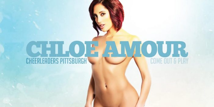 Chloe Amour returns to Cheerleaders in Pittsburgh this weekend.