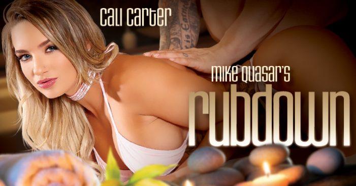 "Cover Girl Cali Carter Stars in Third Degree's ""Rubdown"""