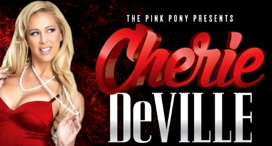 Cherie DeVille Dancing At Pink Pony in Atlanta This Weekend