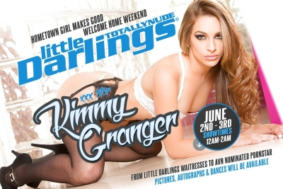 Kimmy Granger Featuring at Little Darlings Lemon Grove This Weekend
