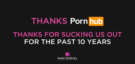 Marc Dorcel Gives PornHub A 10th Anniversary Shout Out
