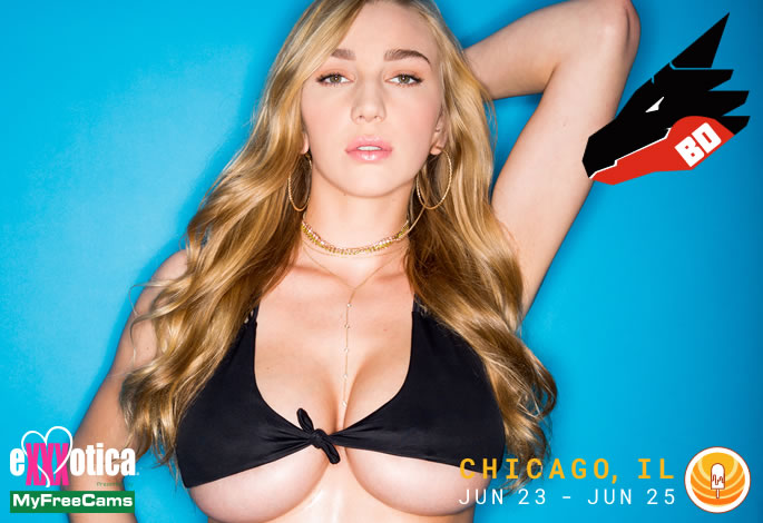 Kendra Sunderland to Appear at Chicago Exxxotica June 23 – June 25