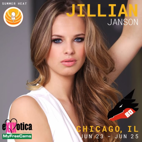 JILLIAN JANSON Set For EXXXOTICA Chicago Appearance!