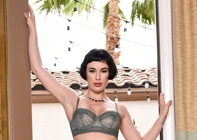Olive Glass Settles Her Debt at Brazzers